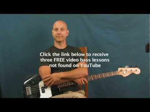 online bass guitar lesson beverly hills weezer - YouTube