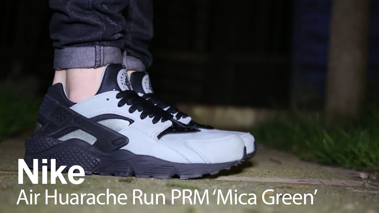 c4ac8c4bf699 Review of the Nike Air Huarache Run PRM  Mica Green  - YouTube