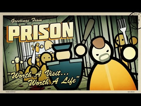 Prison Architect (Escape Mode) - QUE COMECE A REBELIÃO!!! (Gameplay / PC / PTBR) HD