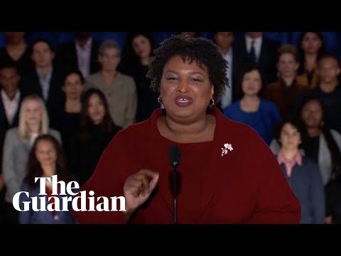 Stacey Abrams: 'Immigrants, not walls' make the US strong