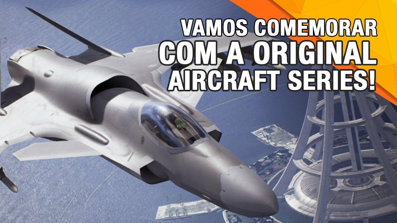 Vamos celebrar o 25º aniversário de ACE COMBAT 7 com o Original Aircraft Series!