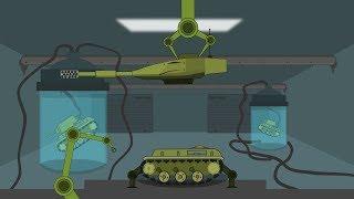 Рождение советского монстра - КВ 2Х1. Воскрешение КВ - 2 - Мультики про танки