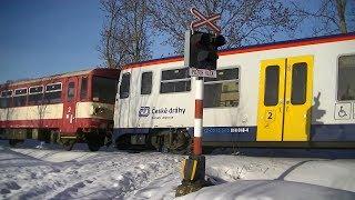 Spoorwegovergang Vítanov (CZ) // Railroad crossing // Železniční přejezd
