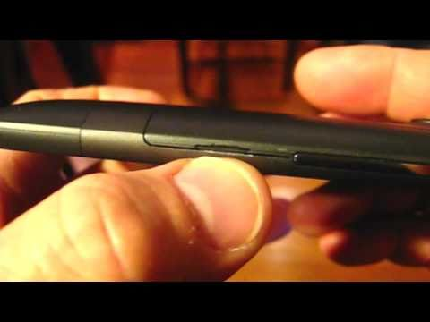 How to open the battery door on the HTC Inspire/HTC Desire HD