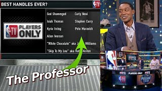 Isiah Thomas puts The Professor on all time Best Handles List Video