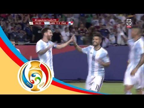 Gol de Lionel Messi | Argentina 4 - 0 Panamá | Televisa Deportes.