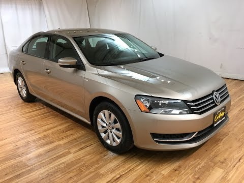 2015 volkswagen passat 1 8t s leather carvision youtube. Black Bedroom Furniture Sets. Home Design Ideas