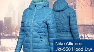 Куртка-пуховик Nike Alliance Jkt-550 Hood Ltw обзор