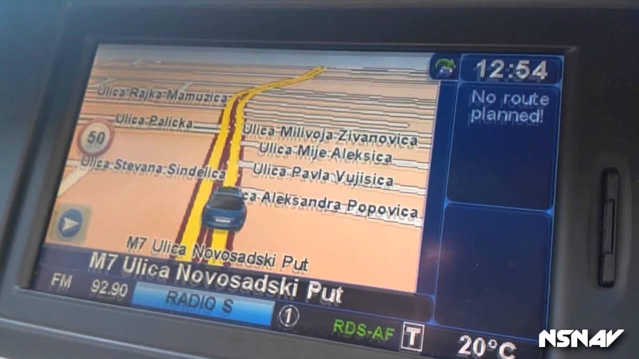 carminat navigacija mapa srbije download Renault Mape Srbija   YouTube carminat navigacija mapa srbije download