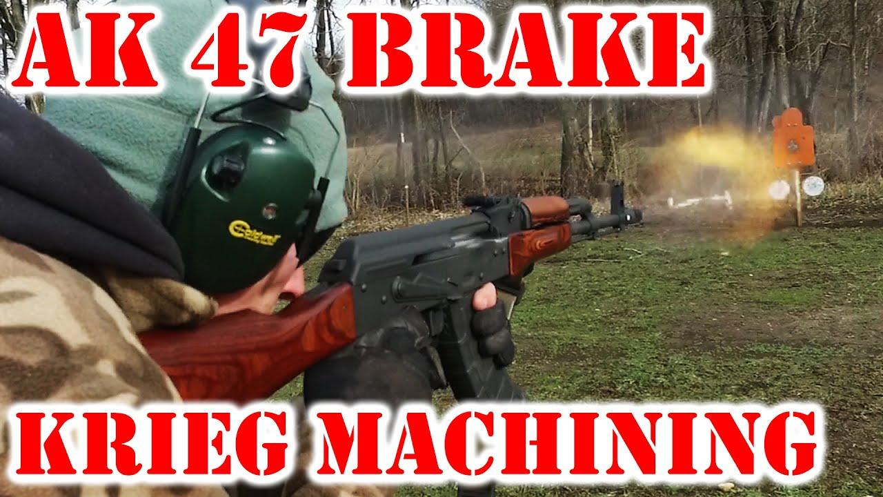 AK47 Muzzle Brake from Krieg Machining