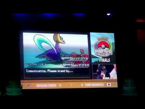 Pokemon World Championships VGC 2013 Juniors Finals: Brendan Zheng (US) vs Fuko Nakamichi (JP)