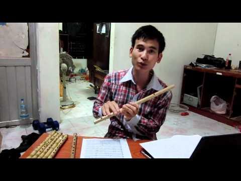 Hướng dẫn thổi sáo: Các kỹ thuật cơ bản 1 - Sáo trúc Cao Trí Minh