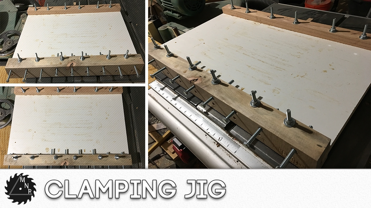 Clamping Jig For Cutting Boards Youtube