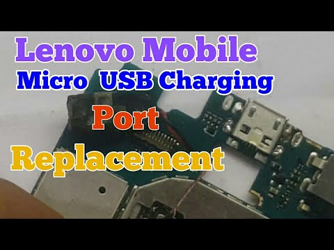 Lenovo A2010 USB  Charging Port  Replacement