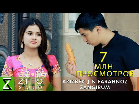 Азизбек Чураев ва Фарахноз - Зангирум (Клипхои Точики 2019)