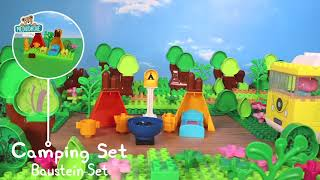 Stavebnica Peppa Pig Camping set PlayBIG Bloxx BIG