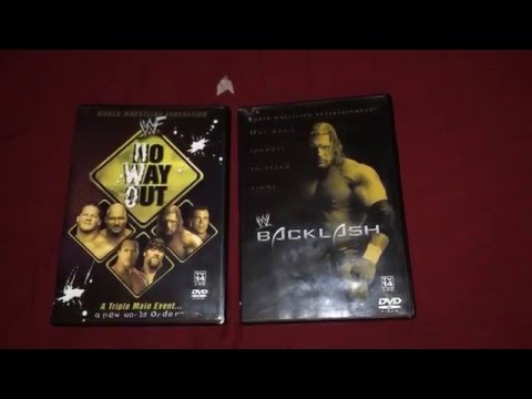 WWE/F No Way Out & Backlash 2002 PPV DVD's streaming vf