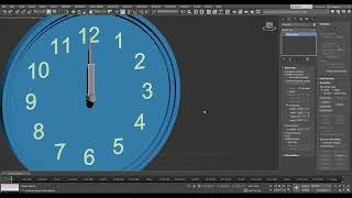 3ds Max | Анимация механических часов