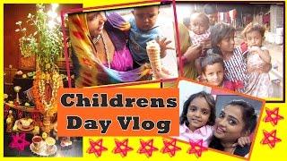 Childrens Day Vlog   Tulsi Vivah at Mom