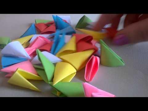 Как сделать треугольные модули