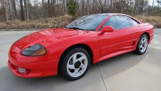 1991 Dodge Stealth RT Twin Turbo (3000 GT VR4) Start Up, Exhaust, and In Depth Review