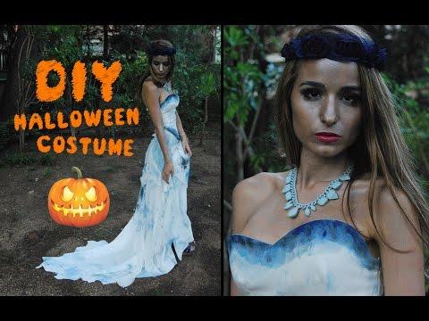 diy | cómo hacer un vestido de novia cadáver (disfraz de halloween
