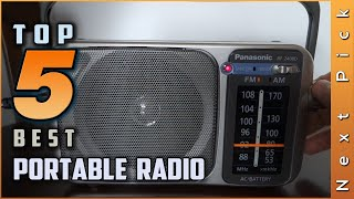 Top 5 Best Portable Radios Review in 2021