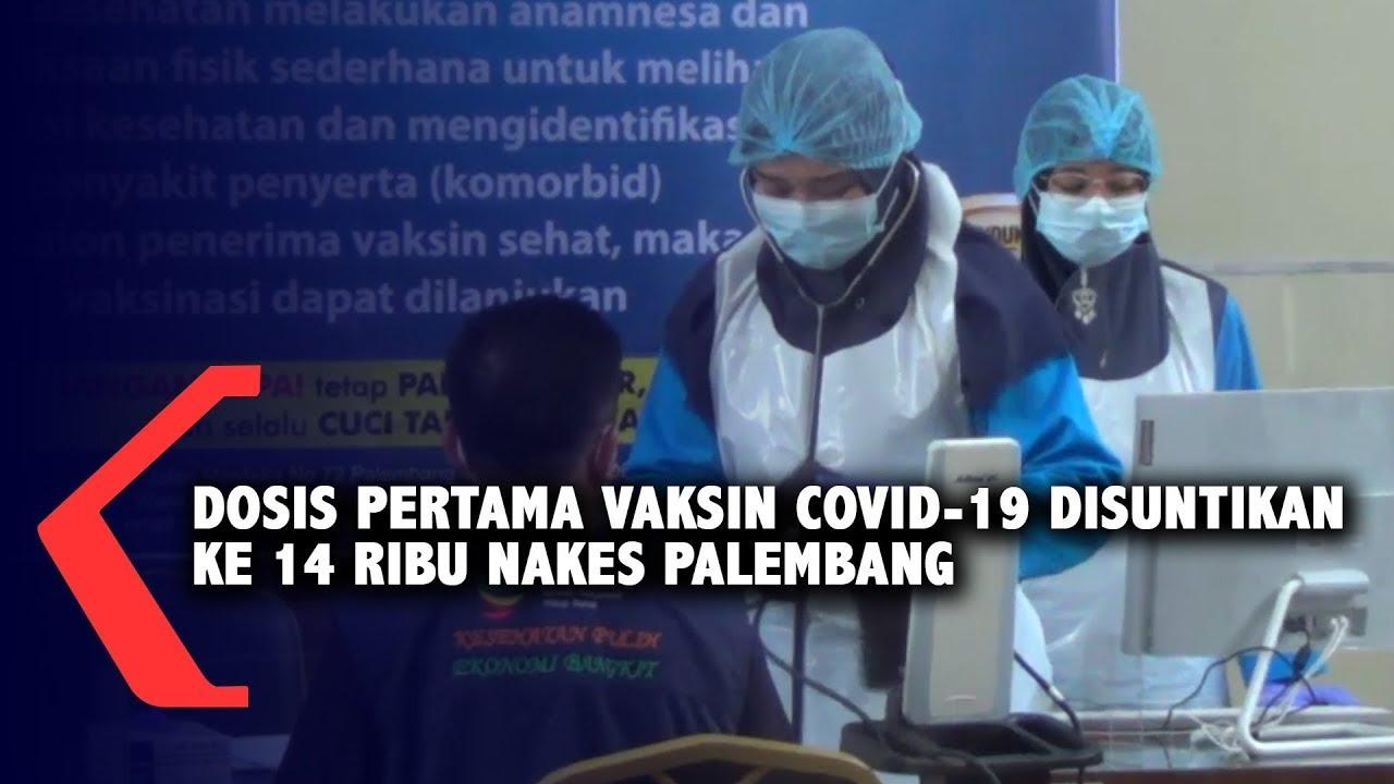 Dosis Pertama Vaksin Covid-19 Disuntikan Ke 14 Rib