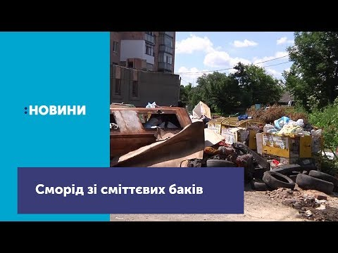 Телеканал UA: Житомир: Жителі багатоповерхівки на Мальованці скаржаться на сморід зі сміттєвих баків