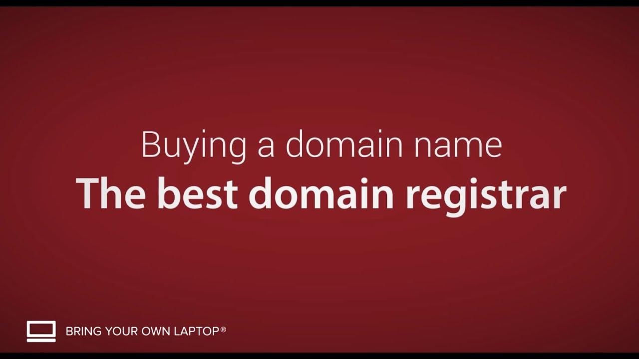The best domain registrars - Buying a domain name [6/9]
