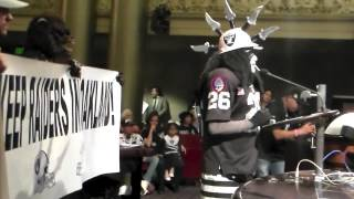 Oakland Raiders Fan Dr Death Impassioned Coliseum City Support Speech Video