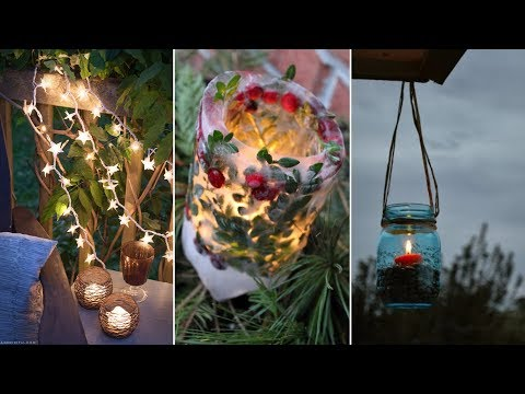 10 Cheap DIY Backyard Lighting Ideas