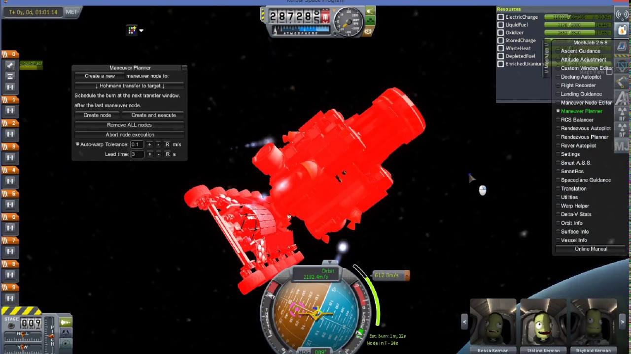 Kerbal Space Program - Minmus Mission with Heavy Rover 3/4