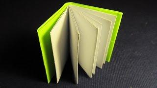 КНИЖКА ОРИГАМИ - легкая поделка из бумаги для начинающих. Видео(КНИЖКА ОРИГАМИ - оригинальная поделка из бумаги. Делается очень легко, без клея. Книжка получается очень..., 2015-02-16T10:23:29.000Z)
