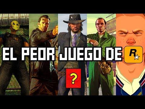 Este es el PEOR Videojuego de Rockstar Games ¿Puedes Adivinar cual es?