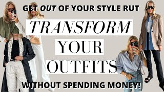 HOW TO TRANSFORM YΟUR OUTFITS ON A BUDGET | GET OUT OF YOUR STYLE RUT | Lessons with Lydia