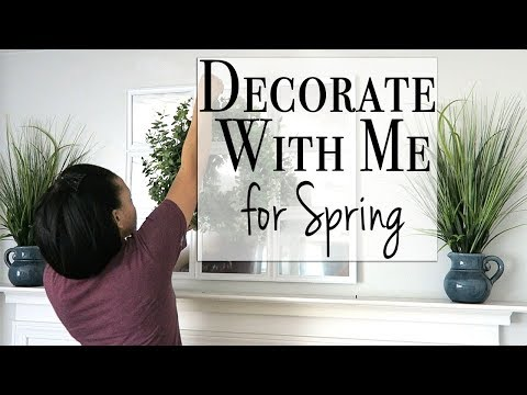 Decorate with Me ~ Spring DIY & Decor Challenge