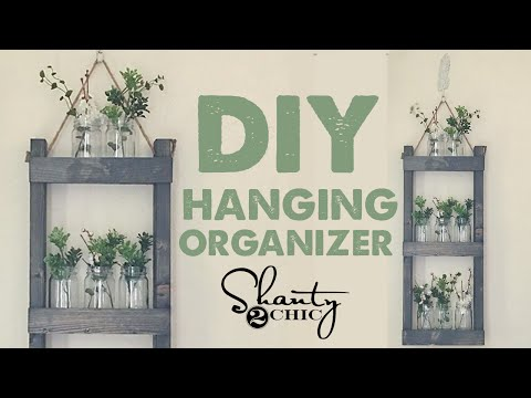 DIY Hanging Organizer UNDER $15 |...