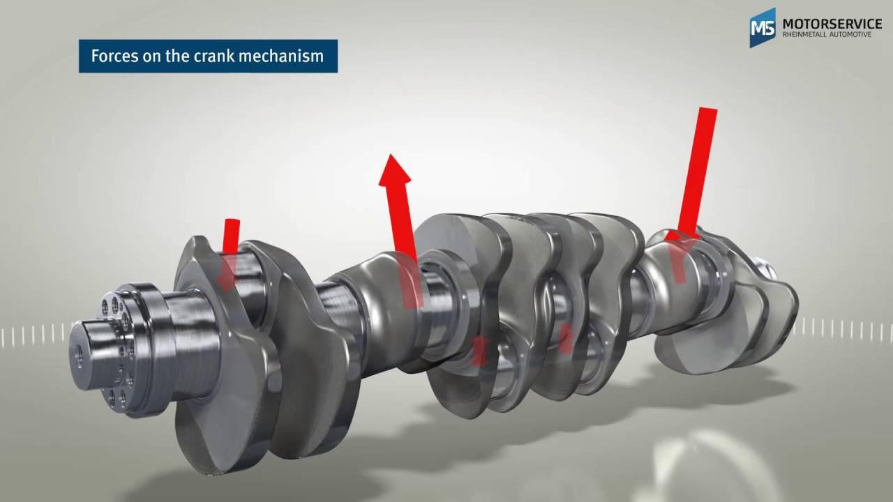 - Motorservice Group - Bf Crankshaft