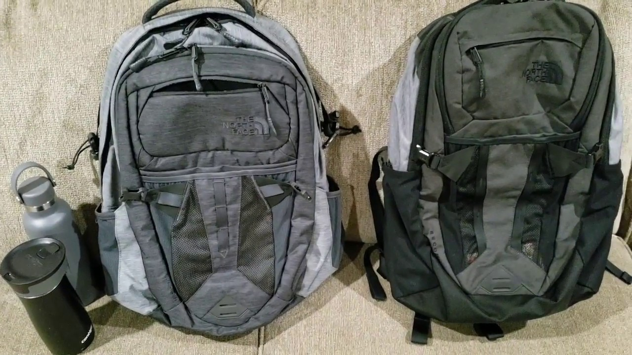 ec599ae50 The North Face Recon Backpack Past Season VS 2018 Version - YouTube