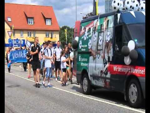 Der Festumzug zum 176. Schul- und Heimatfest in Jessen 2014