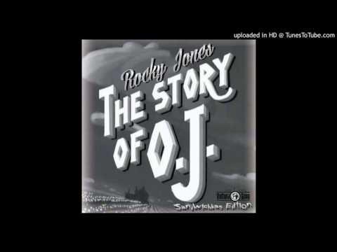 "Rocky Jones ""Story of OJ"" Sandwhich Bag Edtion"
