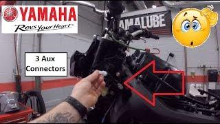 MT09 FZ09 3 auxiliary power port locations. Yamaha aux