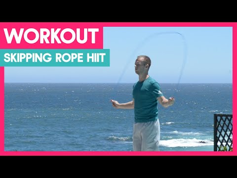 Skipping Rope HIIT Workout for Weight Loss and Fitness