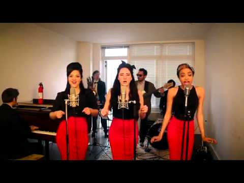 BurnVintage '60s Girl Group Ellie Goulding Cover with Flame O Phone