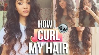 How I Curl My Hair | Requested Hair Tutorial