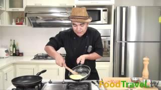 กิมจิออมเล็ต Kimchi Omelet
