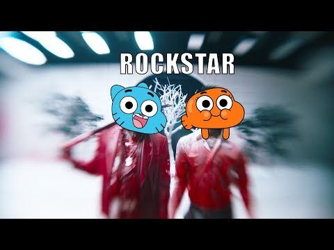 Gumball Sing Post Malone Rockstar ft 21 Savage [Cartoon Cover]