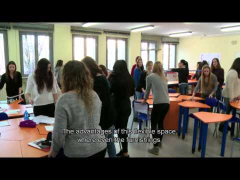 Interactive classroom: Cloud learning in a flexible classroom, Italy