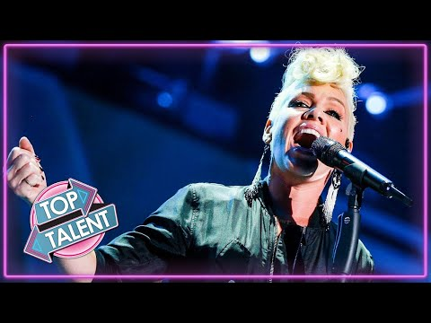 Best Of PINK! X Factor, Got Talent and Idols | Top Talent